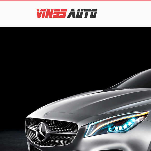 VINSSAUTO responsive website development and logo design - featured
