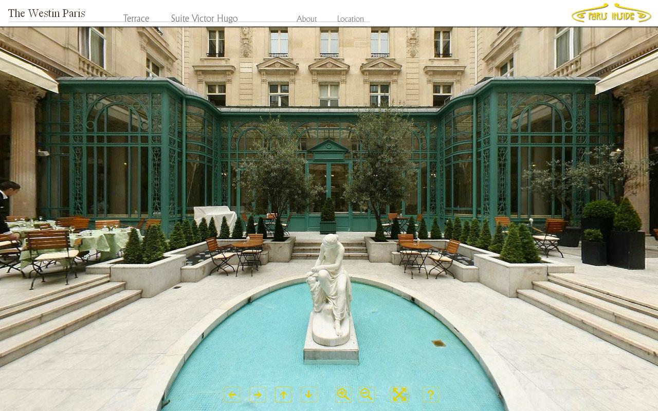 Ocean multimedia studio the westin paris hotel for The hotel paris