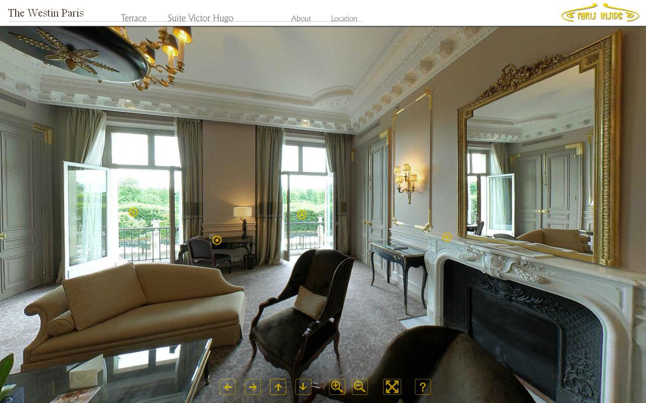 Ocean multimedia studio the westin paris hotel for 360 degree house tour